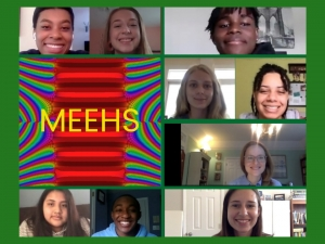 Pictures of students from MEEHS 2020