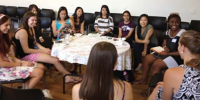 Women mentoring group